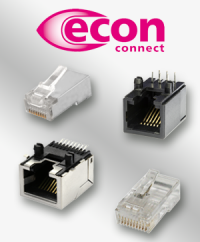 For good communication: The modular connectors from econ connect